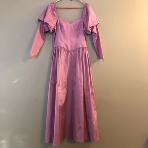 AWESOME 80's Prom Dress Vintage Gown Princess